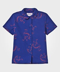 Bobo Choses Flamingos Blouse Mazarine Blue Mazarine Blue