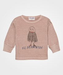 Bobo Choses Mr. Badminton Baby T-Shirt Off Rose Off Rose
