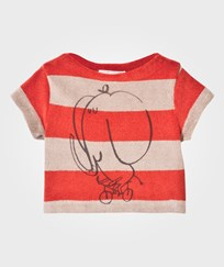 Bobo Choses Cyclist Baby Topp Red Clay Red Clay