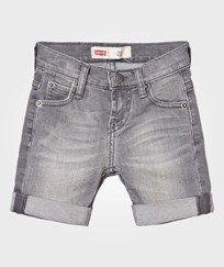 Levis Kids Grey 511 Slim Bermuda Shorts 25