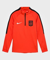 NIKE Orange Neymar Squad Tee MAX ORANGE/BLACK/METALLIC SILVER