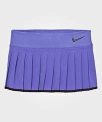 NIKE Blue Victory Tennis Skirt COMET BLUE/BLACK/BLACK