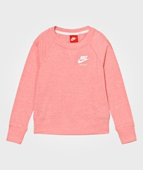 NIKE Pink Vintage Crew Sweater BRIGHT MELON/SAIL/SAIL