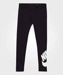 NIKE Black Logo Leggings Black
