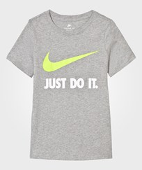 NIKE Grey Just Do It Tee DK GREY HEATHER