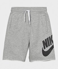 NIKE Grey Alumni Shorts DK GREY HEATHER