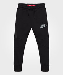 NIKE Black Tech Fleece Hoodie BLACK/COOL GREY