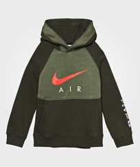 NIKE Multi Coloured Air Hoodie SEQUOIA/LEGION GREEN/MAX ORANGE