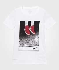 NIKE White Liftoff Dry Tee White