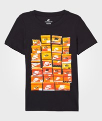 NIKE Black Vintage Shoebox Tee Black