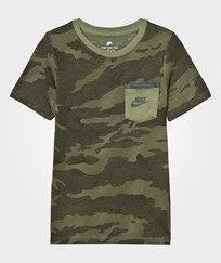 NIKE Green Tech Tee PALM GREEN/PALM GREEN