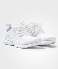 NIKE White and Platinum Presto Junior Trainers WHITE/WHITE-WHITE-PURE PLATINUM