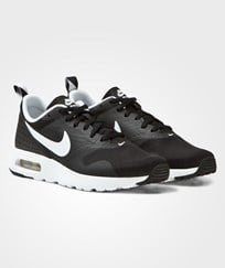 NIKE Black Air Max Tavas Trainers Black/White