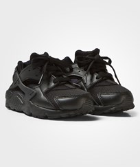NIKE Black Huarache Run Trainers BLACK/BLACK-BLACK