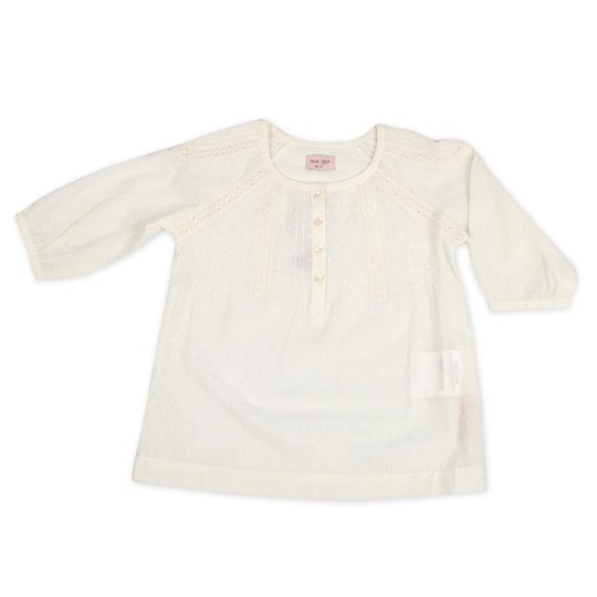 Noa Noa Miniature Mai Cotton Chalk White
