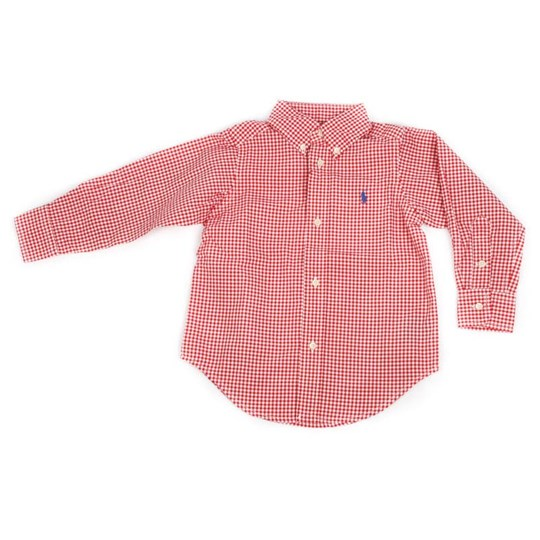 Ralph Lauren LS Blake Chest Red Red