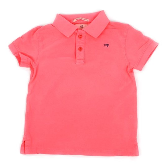 Scotch & Soda Polo Shirt Pink Pink