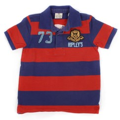 Polo Shirt Blue/Red