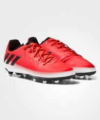 adidas Red Messi 16.3 Firm Ground Football Boots Red