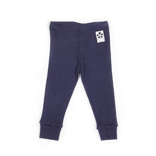 Mini Rodini Leggings Basic Blue Blue