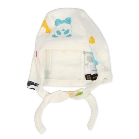 Mini Rodini Baby Helmet Multipanda Colour Multi