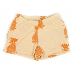 Mini Rodini Jersey Shorts Beige/Orange