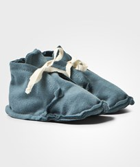 Gray Label Baby Raw Edged Booties Denim Denim