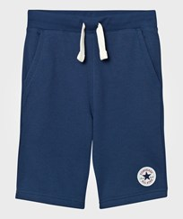 Converse Navy French Terry Sweat Shorts B9P