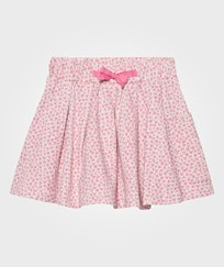 The Bonnie Mob Lightweight Terry Skater Skirt With Pocket Pink Bunny Leopard Print Pink Bunny Leopard Print