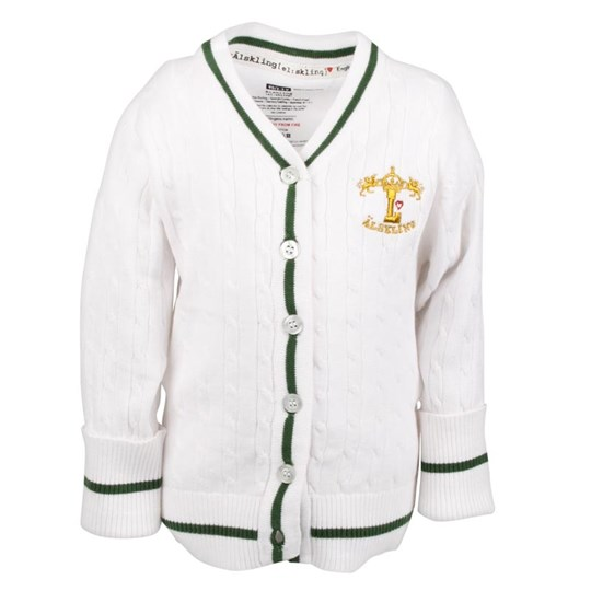 Lundmyr Of Sweden Cardigan Vit White
