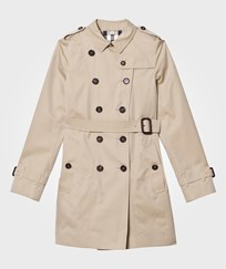 Burberry Beige Trench with Applique Badges Honey