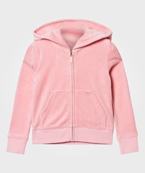 Juicy Couture Pale Peach Jewelled and Glitter Velour Hoody PARADISE FOUND