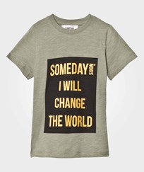 Someday Soon Someday T-shirt Green Green