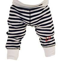 Lundmyr Of Sweden Pants Classic Striped White