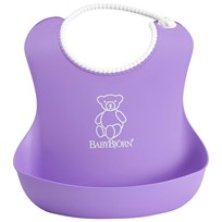 Babybjörn Soft Bib Purple Puple