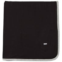 eBBe Kids Baby Blanket Black Double Black