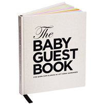 The Tiny Universe The Baby Guest Book Swedish Multi
