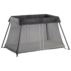 Image of Babybjörn Travel Cot Light Black Travel Cot Light, Black (72891)