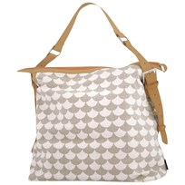 Littlephant Messenger Bag Waves Grey/Grey Sort
