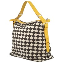 Littlephant Messenger Bag Waves Black/Grey Multi