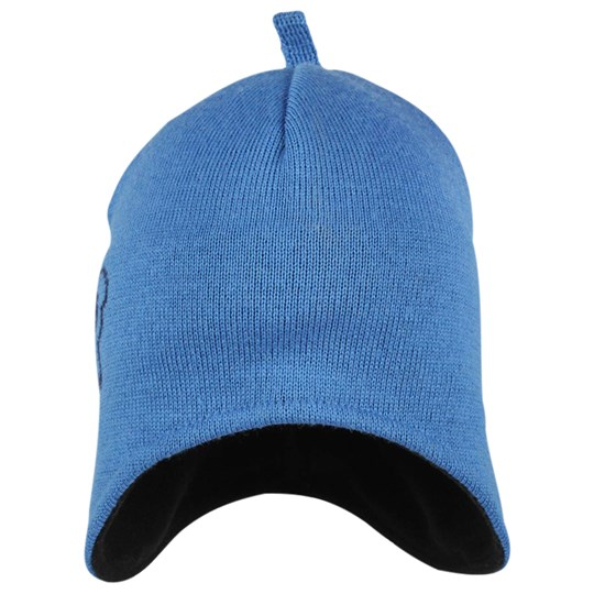 Isbjörn Of Sweden Knitted Cap Logo Blue Blue