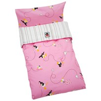 Pingu Bed Set Trolley Pink Pink
