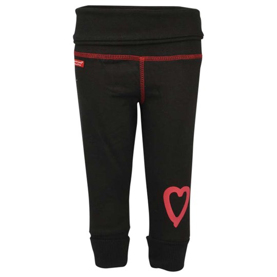 Lundmyr Of Sweden Black Pant With Heart Black