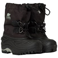 Sorel Super Trooper Black, Light Gre Black