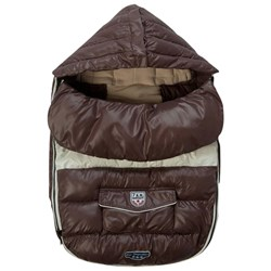 7 A.M. Enfant Baby Shield Marron Glace L