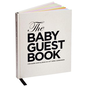 Image of The Tiny Universe Baby Gæstebog (norsk) The Baby Guest Book Norsk (94748)