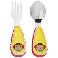 Skip Hop Zootensils Fork & Spoon Set Monkey Multi