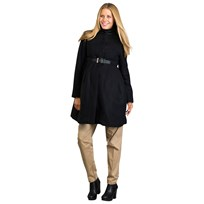 Mom2moM Cashmere Coat Design Black Black