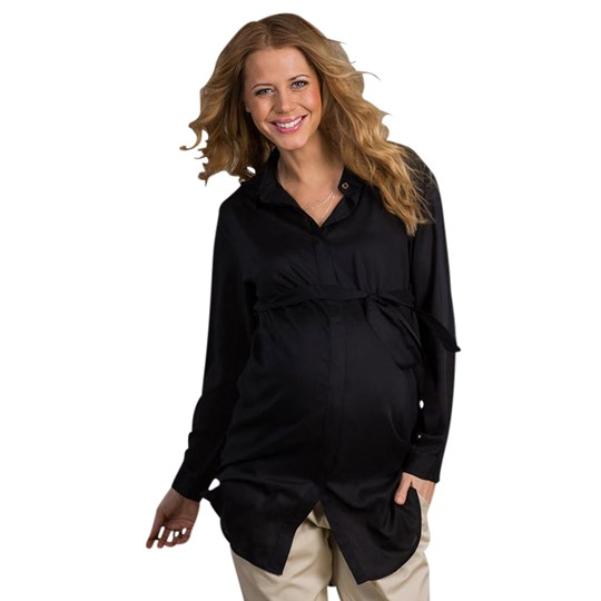 Mom2Mom Maxishirt Black  Black