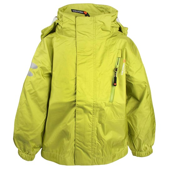 Isbjörn Of Sweden Light Weight Rain Jacket Lime Green
